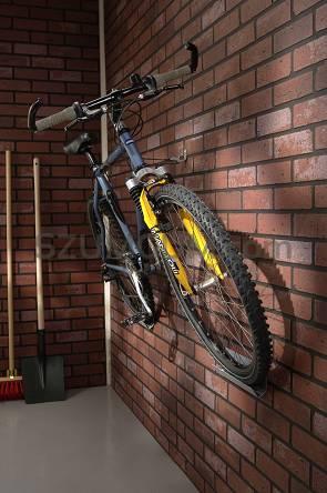 Masywnie Uchwyt ścienny na 1 rower - wieszak rowerowy KD16