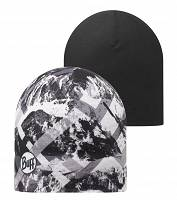 Czapka dwustronna do biegania BUFF MICROFIBER REVERSIBLE HAT BUFF - MOUNTAINTOP