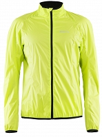Kurtka rowerowa męska CRAFT Active Bike Light Rain Jacket, żółty - 2851