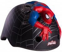 Kask rowerowy Crazy Safety - SPIDERMAN