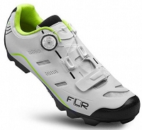 Buty ma rower MTB F-75.II carbon white/neon yellow