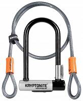 Zapięcie rowerowe Kryptonite Kryptolok Mini 7 + Kryptoflex Cable