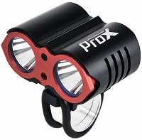 ProX Dual II Power Lampka Led 2xCree 1600 lumenów aku 8000mAh