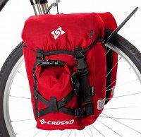 Sakwy rowerowe  Crosso Classic Small 30L (kpl.)