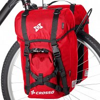 Sakwy rowerowe  Crosso Expert Small 40L (kpl.)
