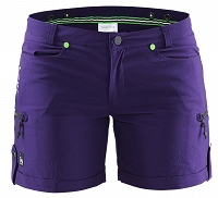 Damskie szorty rowerowe Craft In-The-Zone Shorts - fioletowe