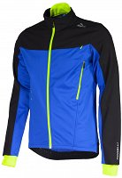 Rogelli TRABIA - softshellowa kurtka rowerowa - royalblue/black/fl.-yellow 003.115
